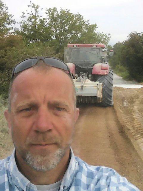 caminos de tierra, estabilización de suelos