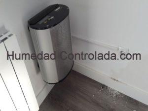 ventilación mecánica forzada