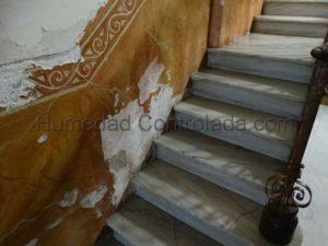 quitar la humedad de las paredes, la humedad de capilaridad