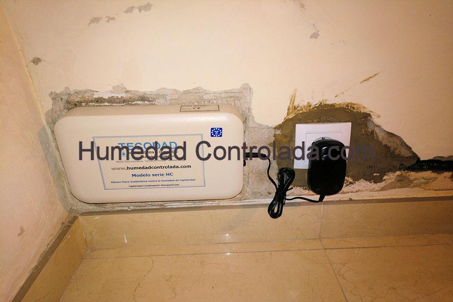 quitar la humedad de las paredes en 3 pasos