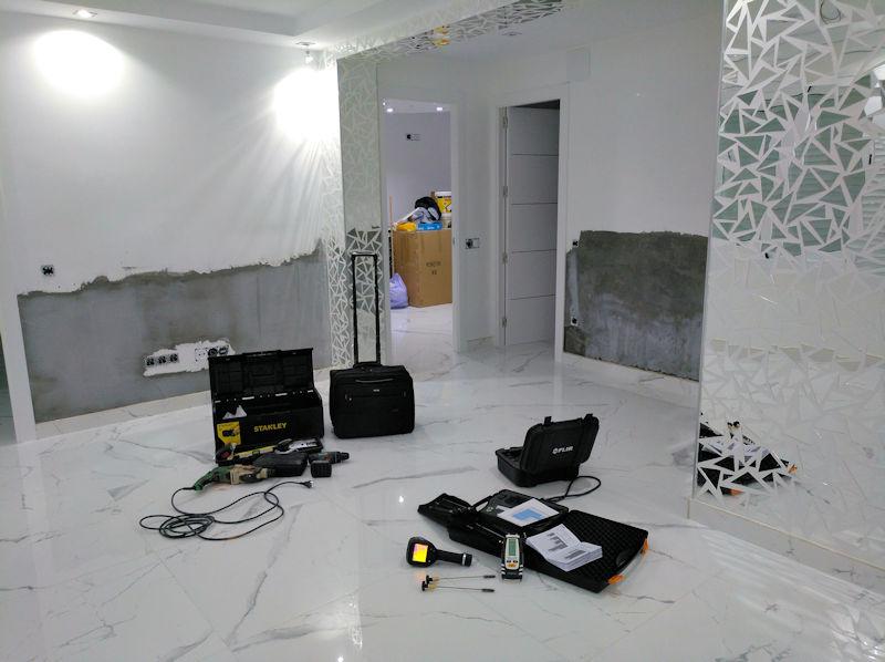 rehabilitación de muros afectados por humedad de capilaridad