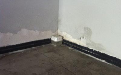 Tienes humedad en las paredes, tienes capilaridad en casa.