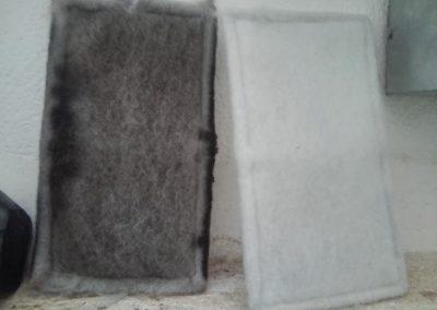 filtros contaminación