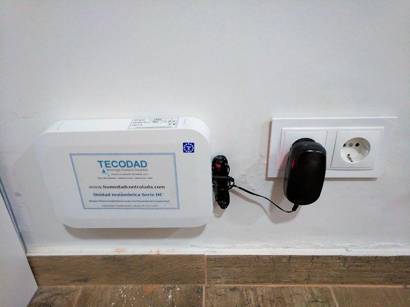 La electroósmosis inalámbrica, ¿una nueva emisora de AM? Un método ideal para eliminar para siempre la humedad de capilaridad en casa.