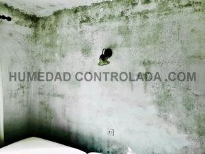 Fotos de humedades en casa. CONDENSACION