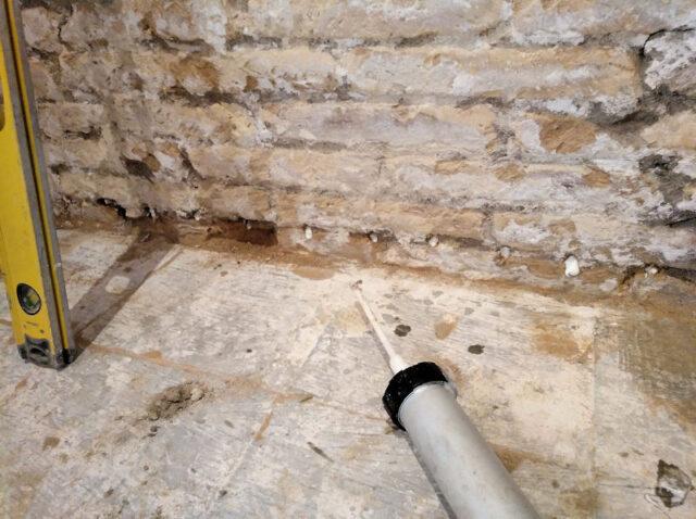 capilaridad o la humedad de cimientos