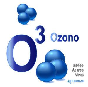 ozono para desinfectar contra los virus