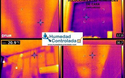 Diagnosticar las humedades en casa