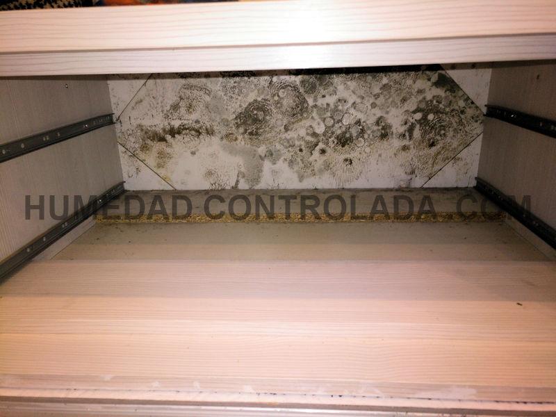 Humedades de condensación con mohos en casa